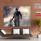 Dredd Movie Fantasy Thriller Karl Urban Huge Giant Print Poster