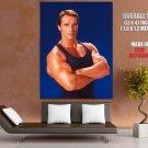 Total Recall Actor Arnold Schwarzenegger Huge Giant Print Poster