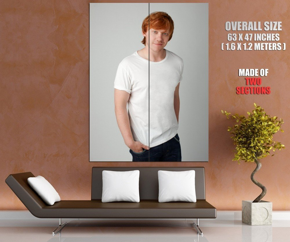 Rupert Grint Actor Harry Potter Huge Giant Print Poster