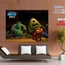 Monsters University Cartoon Movie Sullivan Mike HUGE GIANT Print POSTER