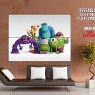 Monsters University MU Cartoon Movie Sullivan Mike HUGE GIANT Print POSTER
