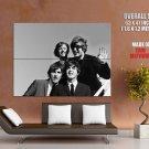 Lennon Mc Cartney Singer Music Huge Giant Print Poster