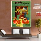 The Wolf Man 1941 Retro Movie Vintage HUGE GIANT Print Poster