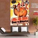 Road To Morocco 1942 Retro Movie Vintage HUGE GIANT Print Poster