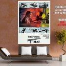Mc Q John Wayne Movie Vintage Art Huge Giant Print Poster