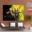 Judas Priest Heavy Metal Music Band 1988 HUGE GIANT Print Poster