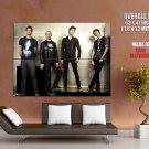 Afi Rock Band Music Group Huge Giant Print Poster