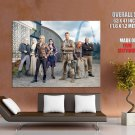 Defiance Characters Cast TV Series HUGE GIANT Print Poster