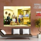 Cougar Town Characters Tv Series Huge Giant Print Poster