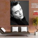 Robert Pattinson Bw Actor Huge Giant Print Poster