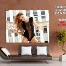 Leanna Decker Sexy Playboy Hot Model HUGE GIANT Print Poster