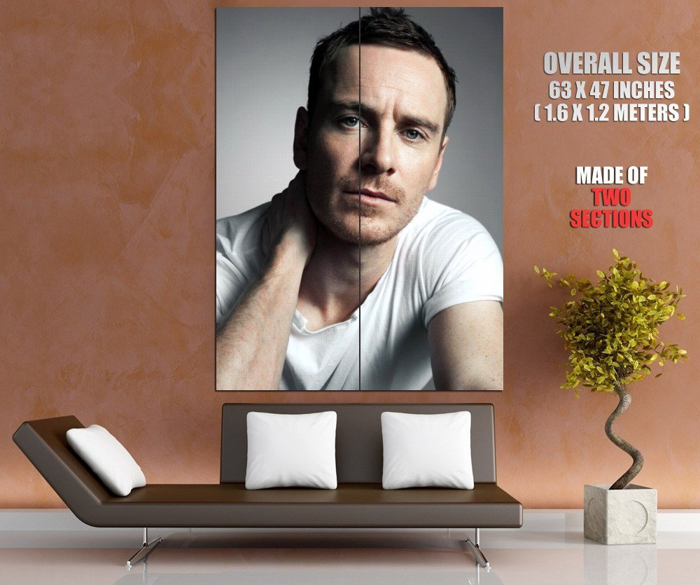 Michael Fassbender Portrait Actor HUGE GIANT Print Poster