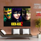 Kick Ass 2 Movie 2013 Huge Giant Print Poster
