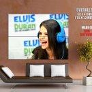 Selena Gomez Funny Smile Pop Singer Music HUGE GIANT Print Poster