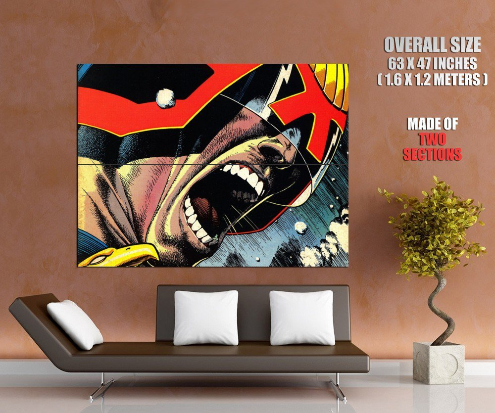 Judge Dredd Comics Art Huge Giant Print Poster
