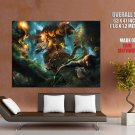 Fantasy Battle Artwork Minotaur HUGE GIANT Print Poster