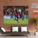 Lionel Messi Football Soccer Sport HUGE GIANT Print Poster