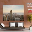 Nyc Empire State Building Huge Giant Print Poster