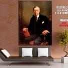 Thomas Woodrow Wilson Painting HUGE GIANT Print Poster