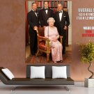 Queen Elizabeth Ii Great Britain Huge Giant Print Poster