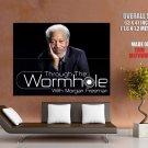 Through The Wormhole Morgan Freeman TV HUGE GIANT Print Poster