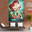 The Little Mermaid Walt Disney Art HUGE GIANT Print Poster