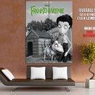 Frankenweenie BW 2012 Movie HUGE GIANT Print Poster