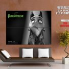 Frankenweenie Sparky BW 2012 Movie HUGE GIANT Print Poster