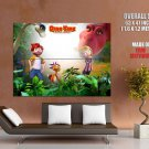 Dino Time 2012 Animation Movie HUGE GIANT Print Poster