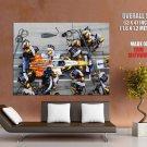 Fernando Alonso Renault Pitstop HUGE GIANT Print Poster
