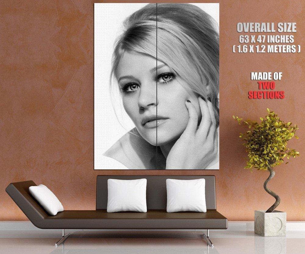 Emilie De Ravin Hot BW Portrait Actress HUGE GIANT Print Poster