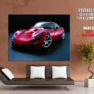 Tvr Sagaris Red Sports Car Huge Giant Print Poster