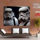 Stormtroopers Star Wars Cosplay HUGE GIANT Print Poster