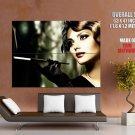 Hot Retro Smoking Woman Huge Giant Print Poster