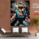 Superman Electric Chair DC Comics Art HUGE GIANT Print Poster