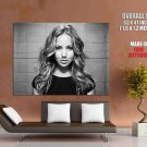 Jennifer Lawrence Hot Actress Bw Huge Giant Print Poster