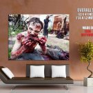 Zombies Blood Horror Huge Giant Print Poster