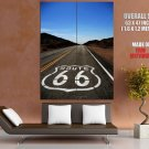 Route 66 American Highway HUGE GIANT Print Poster