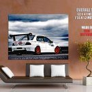 Mitsubishi Lancer Evolution Car HUGE GIANT Print Poster