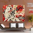 Okami Wolf Spirit Japanese Art Game HUGE GIANT Print Poster
