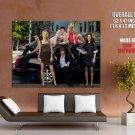 Gossip Girl Cast Characters Tv Huge Giant Print Poster