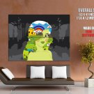 Mother Nature Cool Art Huge Giant Print Poster