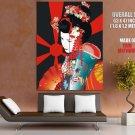 Geisha Traditional Japanese Art HUGE GIANT Print Poster