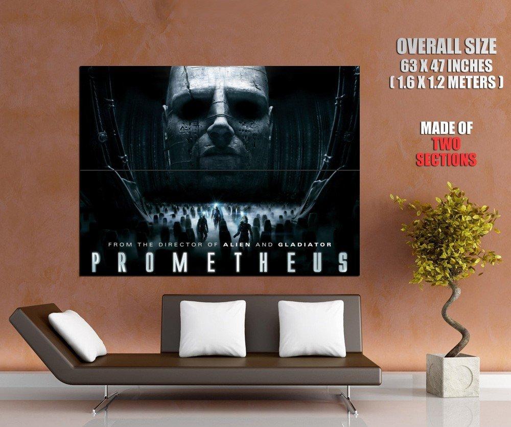 Prometheus Sci Fi Movie Huge Giant Print Poster