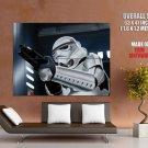Star Wars Classic Stormtrooper Art HUGE GIANT Print Poster