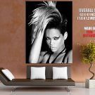 Rihanna Rated R Bw Hot Portrait Music Huge Giant Print Poster