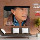 George Strait American Country Music Singer HUGE GIANT Print Poster