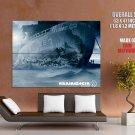 Rammstein Rosenrot Cover Music HUGE GIANT Print Poster
