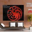 Game Of Thrones House Targaryen TV Series HUGE GIANT Print Poster