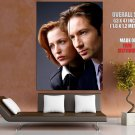 The X Files Mulder And Scully Tv Series Huge Giant Print Poster